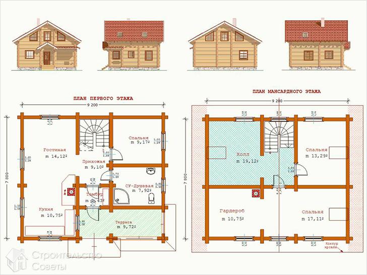 План дома – этапы