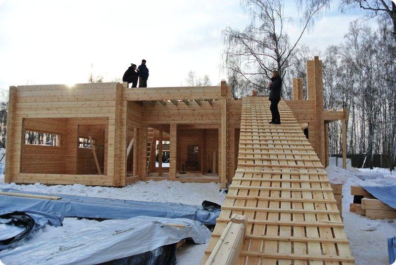 Пошаговая инструкция по строительство дома из бруса своими руками фото 259