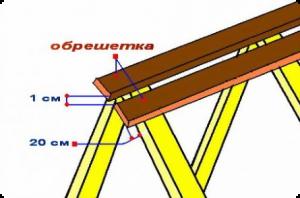 Как правильно сделать крышу