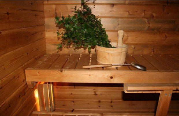как сделать полок в бане самому
