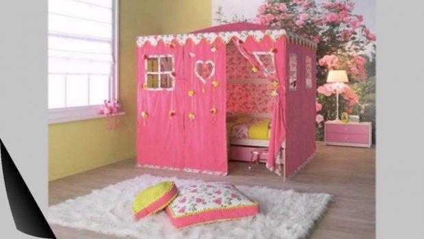 Кровать в виде игрушечного домика