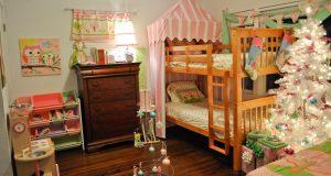 Один из вариантов украшения детской комнаты