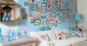 Украшение стены с помощью картинок